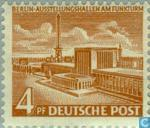 Timbres-poste - Berlin - Bâtiments à Berlin