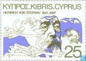 Postage Stamps - Cyprus [CYP] - Stephan, Heinrich von 150J