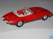 Model cars - Tekno - Jaguar E-type Spider (open)