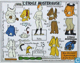 Affiches et posters - Bandes dessinées - L'Etoile Mystérieuse (Vêtements)