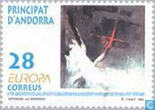 Postage Stamps - Andorra - Spanish - Europe – Contemporary art