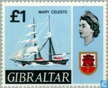 Briefmarken - Gibraltar - Schiffe