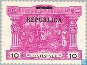 Les timbres-poste imprimés REPUBLICA
