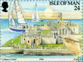 Postzegels - Man - Toerisme