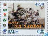 Postage Stamps - Italy [ITA] - Rugby Tournament