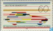 Postage Stamps - Germany, Federal Republic [DEU] -  Auto Show Frankurt am Main
