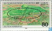 Timbres-poste - Allemagne, République fédérale [DEU] - Electron-Synchrotron