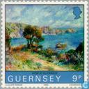 Briefmarken - Guernsey - Renoir