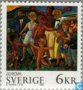 Postage Stamps - Sweden [SWE] - Europe – Peace and freedom
