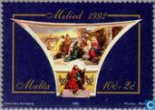 Postzegels - Malta - Bijbelse figuren