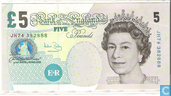 Banknotes - Bank of England - United Kingdom 5 Pounds