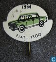 Pins and buttons - Stick pin - 1964 Fiat 1300 [groen]
