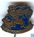 Speldjes, pins en buttons - Steekspeld - Knir, Knar Knor [blauw]