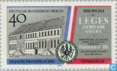Postage Stamps - Berlin - French Gymnasium 1689-1989