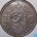 Münzen - Niederlande - Niederlande 2½ Gulden 1961