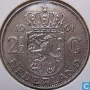 Coins - the Netherlands - Netherlands 2½ gulden 1961