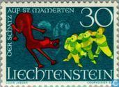Timbres-poste - Liechtenstein - Sagen