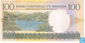 Banknotes - Banque Nationale du Rwanda / Banki Nasiyonali Y´u Rwanda - Rwanda 100 Francs - P29b