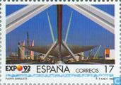 Postzegels - Spanje [ESP] - Wereldtentoonstelling Sevilla