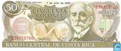 Banknotes - Banco Central de Costa Rica - Costa Rica 50 colones