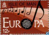 Postage Stamps - Man - Europe – Music Year