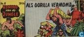 Als gorilla vermomd