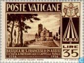 Postage Stamps - Vatican City - Basilica of St. Francis of Assisi