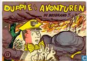 Bandes dessinées - Duppie's avonturen - De bosbrand !!