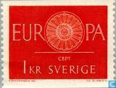 Postage Stamps - Sweden [SWE] - Europe – Spoked Wheel