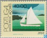 Postage Stamps - Azores - Ships in Azores