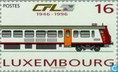Postage Stamps - Luxembourg - Railways 50 years