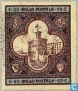 Postage Stamps - San Marino - Government Building