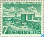 Postage Stamps - Berlin - Buildings in Berlin