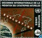 Postage Stamps - United Nations - Geneva - Decade natural disaster reduction