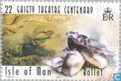 Postzegels - Man - 100 jaar Gaiety theatre