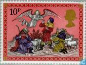Postage Stamps - Great Britain [GBR] - Christmas - Nativity Scenes