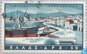 Postage Stamps - Greece - Ports