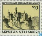 Postzegels - Oostenrijk [AUT] - Vischer Georg Matthäus 300 jaar