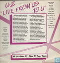 Disques vinyl et CD - U2 - From us to u (london 1982, philadelphia 1983)