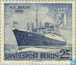 Postzegels - Berlijn - Motorschip Berlin
