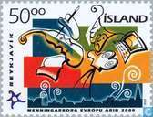 Postage Stamps - Iceland - Cultural capital