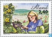 Timbres-poste - Åland [ALA] - Agriculture