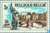 Luik - Monument Tchantches