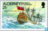 Postage Stamps - Alderney - Lighthouses