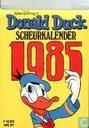 Bandes dessinées - Donald Duck - Scheurkalender 1985