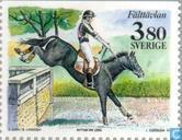 Timbres-poste - Suède [SWE] - Monde équestre Stockholm
