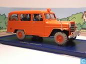 """Voitures miniatures - Atlas - De Jeep van de brandweer in """"De zaak Zonnebloem"""""""
