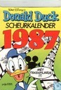 Comics - Donald Duck - Scheurkalender 1987