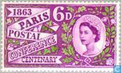 Postzegels - Groot-Brittannië [GBR] - Jubileum Postconferentie Parijs
