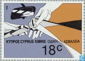 Postzegels - Cyprus [CYP] - Europees Jaar verkeersveiligheid